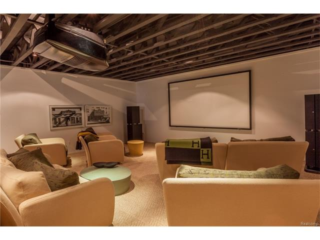 - Theater Room Detail
