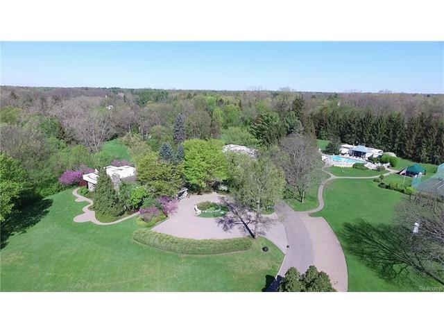 - Estate Aerial Looking North