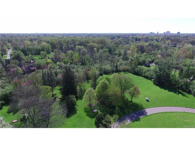 - Estate's eastern acreage