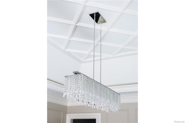 - Close up of Dining Room fixture