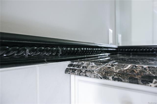 - Custom detail in bathroom 3