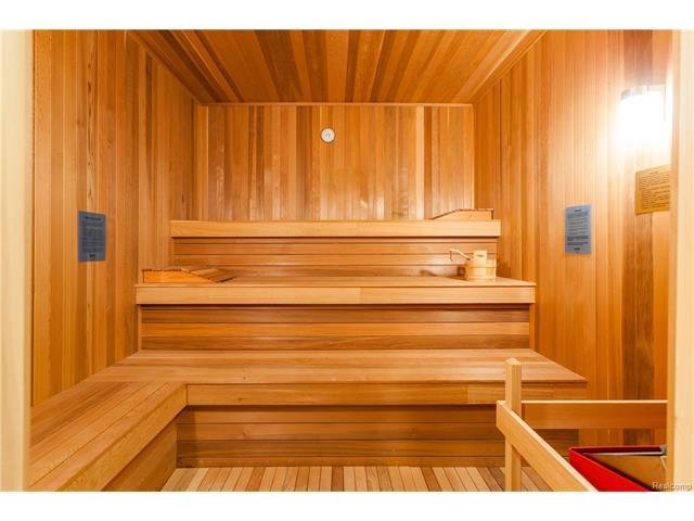 - Large oversized sauna