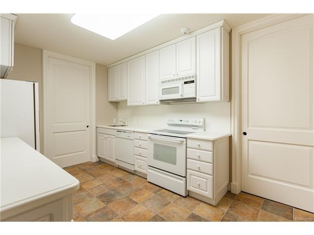 - Lower level service kitchen