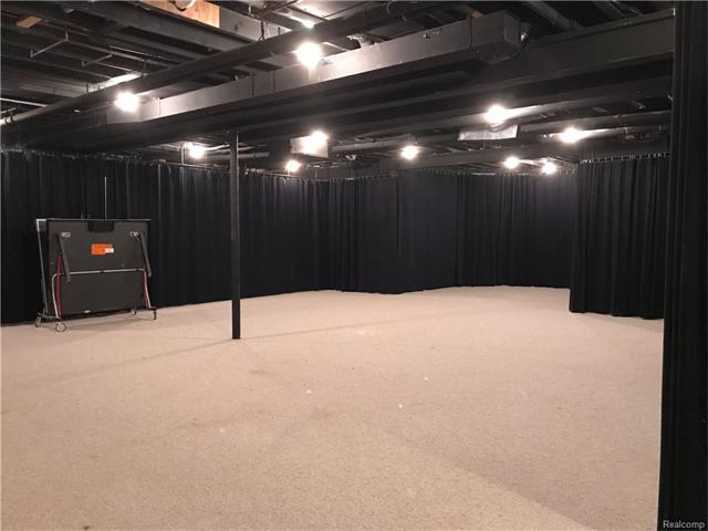 - Large open rec room, perfect for a gym, dance studio, home office, craft room or anything you desire