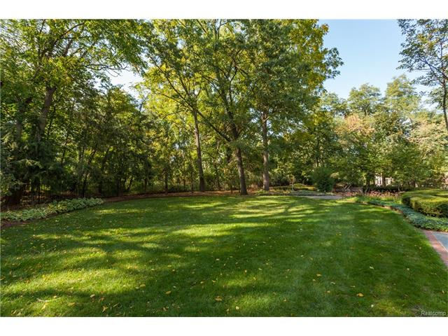 - Alternate view of rear yard with mature trees for privacy