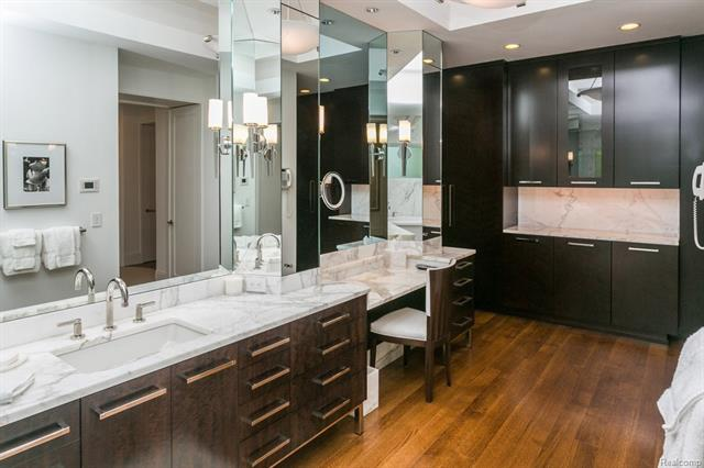 - Master bath stunning cabinetry