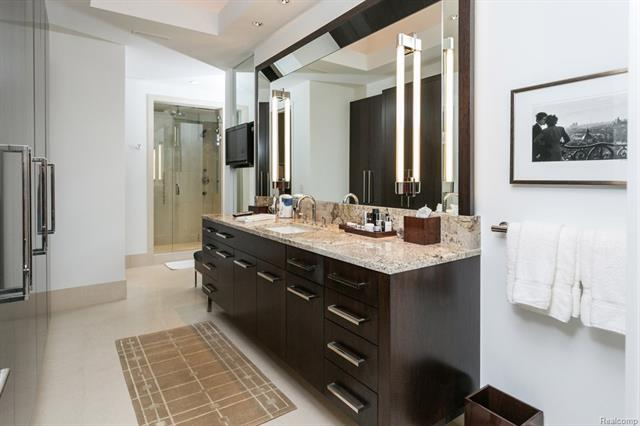 - Master bath his/hers
