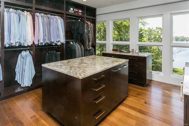 - Master dressing room/closet