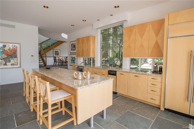 - Lower level kitchen
