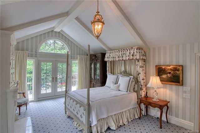 - Master bedroom with balcony