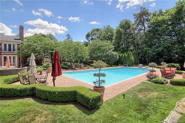 - Pool and patio