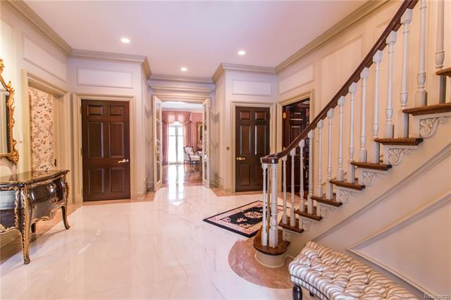 - Foyer looking to living room