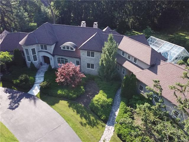 - Front of home - Drone view