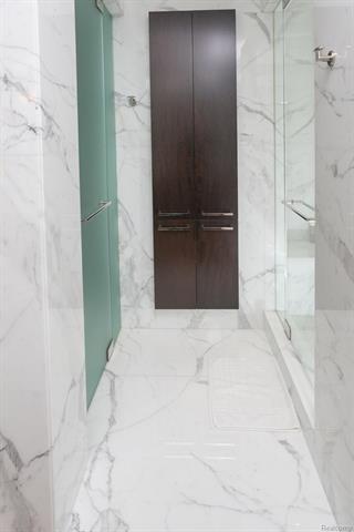 - Master linen closet, shower & water closet