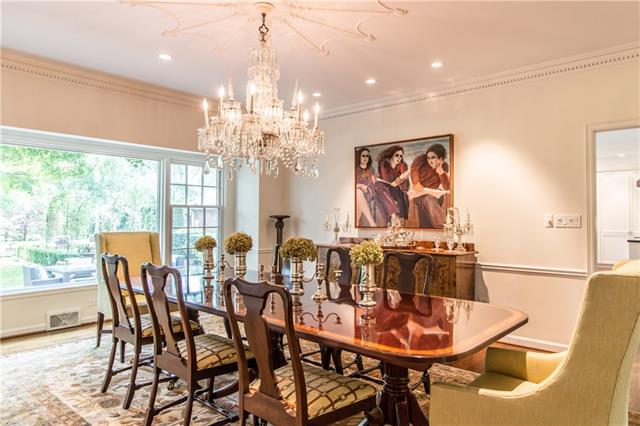 - Dining room view to back