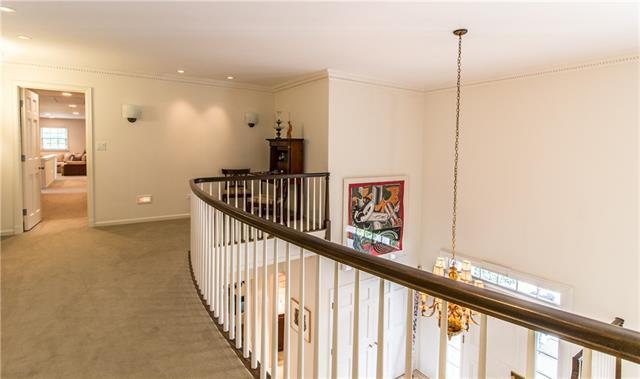 - Upper level balcony