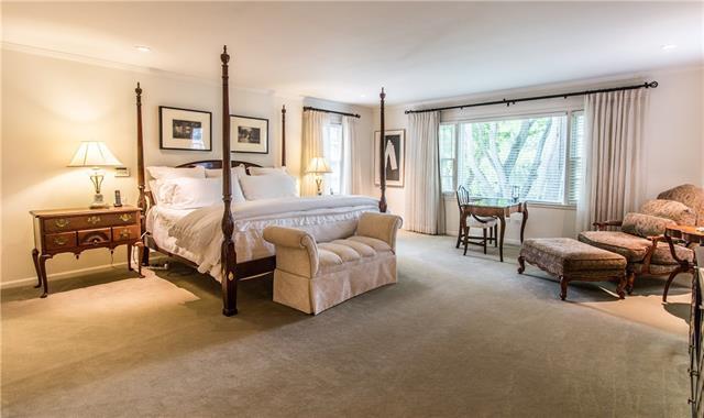 - Gracious master suite