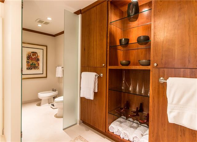 - Exquisite wood accents in master bath