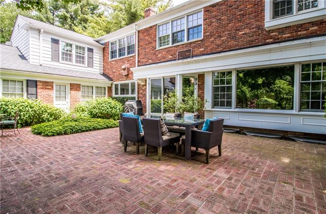 - Brick patio off of kitchen & dining room