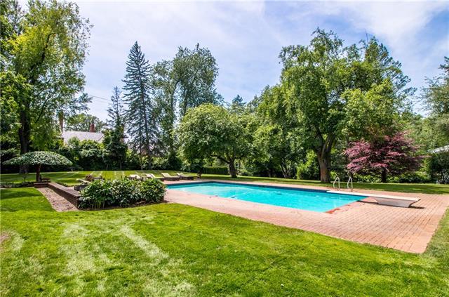 - Pool & grounds