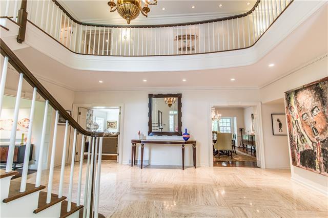 - Foyer view