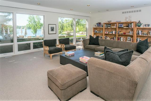 - Lower level family room