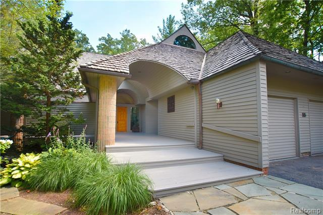 - 2 car heated garage, new cedar roof & fantastic architectural detail