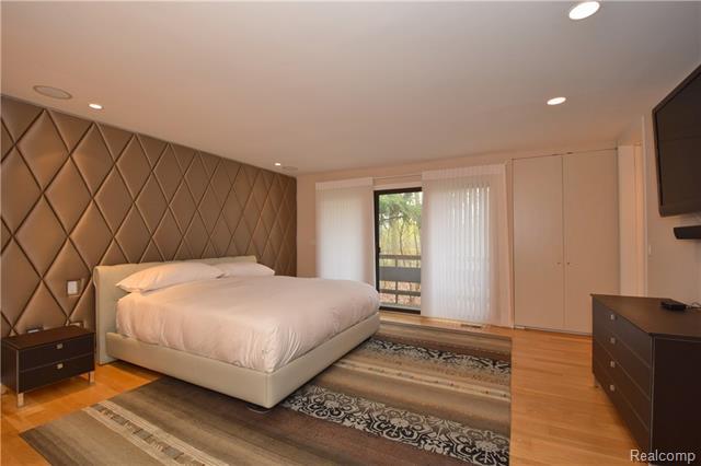 - Master suite