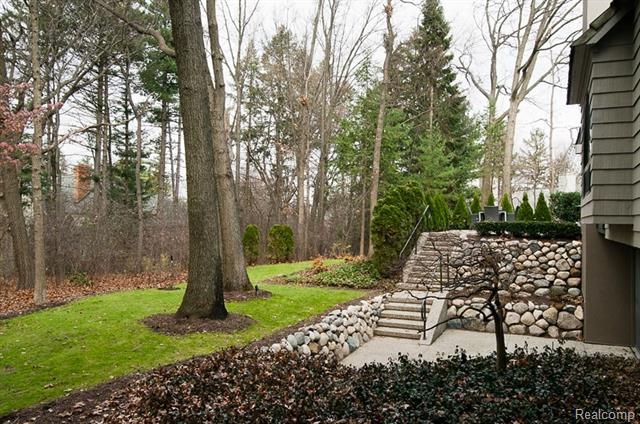 - Walkout lower level in tranquil setting