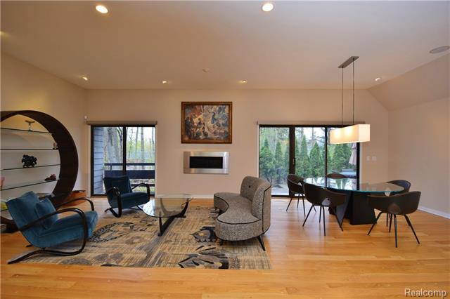 - Living & dining room